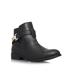 Miss KG - Black 'Jade' flat ankle boots