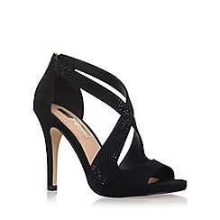 Miss KG - Black 'Shae' High Heel Sandals