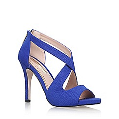 Miss KG - Blue 'Shae' high heel sandals
