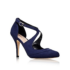 Miss KG - Navy 'Natalie' High Heeled Shoe