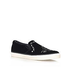 KG Kurt Geiger - Black 'Lord' Slip on Shoe
