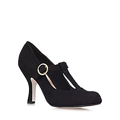 Miss KG - Black 'Nancy' high heeled courts
