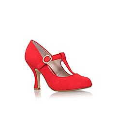 Miss KG - Red 'Nancy' high heel court shoe