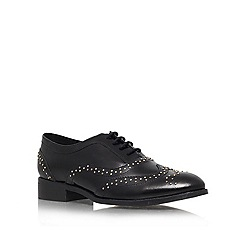 KG Kurt Geiger - Black 'Lawless' Leather lace up