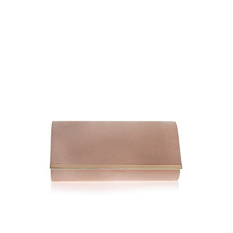 Carvela - Nude +Daniella+ Clutch Bag