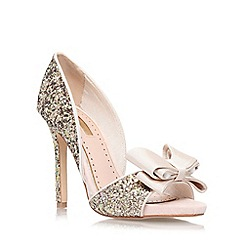 Miss KG - Nude 'Gabriella' high heel court shoe