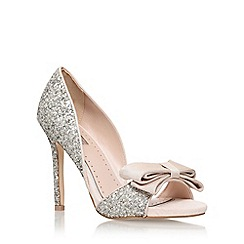 Miss KG - Silver 'Gabriella' High Heel Sandals