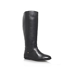 Miss KG - Black 'Wing' Low heeled Boot