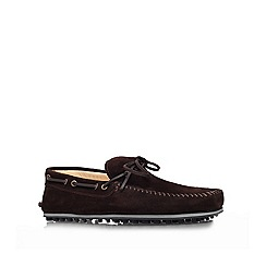 KG Kurt Geiger - Dark brown 'Morgan' casuals