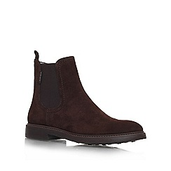 Carvela - Brown 'Skin' Suede ankle boot