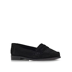 Carvela - Black 'Large' flat loafers