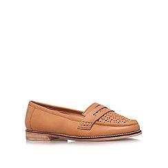 Carvela - Brown 'Large' flat loafers