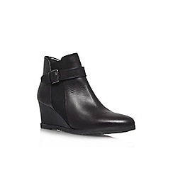 Carvela Comfort - Black 'Ruth' wedge ankle boot