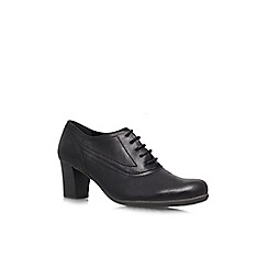 Carvela Comfort - Black 'Andrea' mid heeled shoe