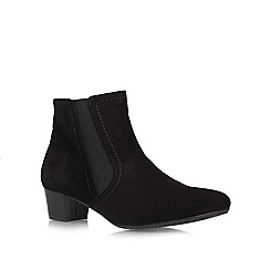 Carvela - Black 'Remi' low heeled ankle boots