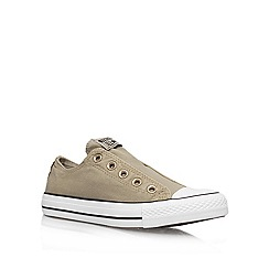 Converse - Converse grey 'ct slip' low-top trainers