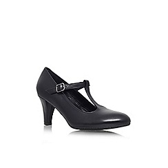 Carvela Comfort - Black 'Anna' mid heeled shoe