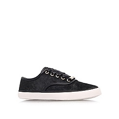 Carvela - Black 'Lake' flat slip ons
