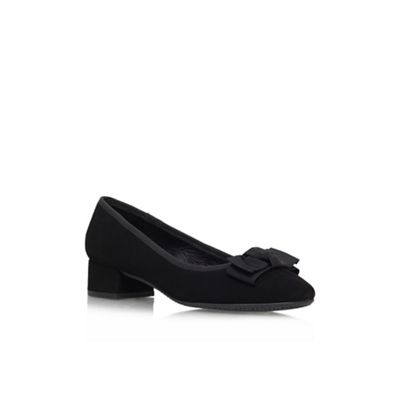Carvela Comfort Black ´Aggie´ court shoe - . -