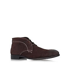 KG Kurt Geiger - Brown 'Crossley' lace up boots