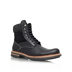 KG Kurt Geiger - Black 'New Hampshire' Leather lace up boot