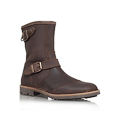 KG Kurt Geiger - Brown 'Blissett' Leather boot