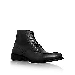 KG Kurt Geiger - Black 'Iverson' lace up boots