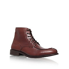 KG Kurt Geiger - Brown 'Iverson' lace up ankle boots