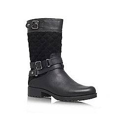 Anne Klein - Black 'Callforth' Leather boot