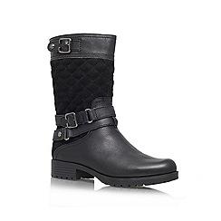 Anne Klein - Black 'Callforth' Leather boot