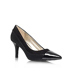 Anne Klein - Black 'Yedda' court shoe