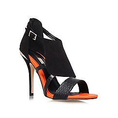 Miss KG - Black 'Honest' high heeled courts