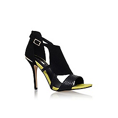 Miss KG - Black/comb 'honest' high heel sandal