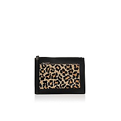 Miss KG - Black/other 'Tilly' clutch bag