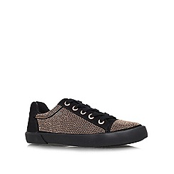 Carvela - Black 'Lock' flat lace ups