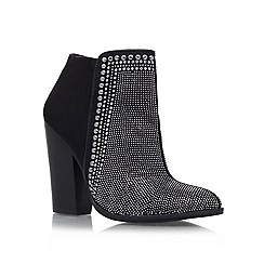 Carvela - Black 'Special' High heeled boot