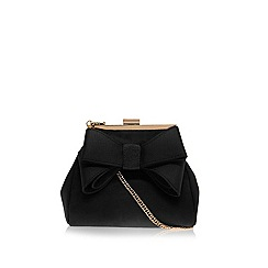 Miss KG - Black 'Tara' clutch bag
