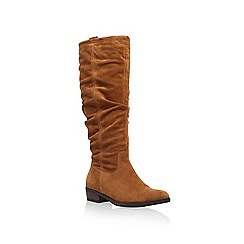 Carvela - Tan 'Wilt' Knee High Boots
