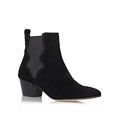 Carvela - Black 'Scottie' Leather boot