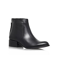 Carvela - Black 'Slice' Leather ankle boot