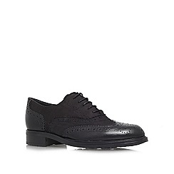 Carvela - Black 'Lent' lace up flats