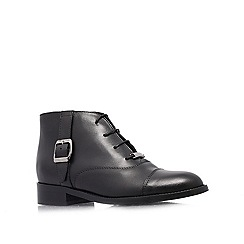 Carvela - Black 'Smart' flat lace ups