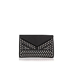 Carvela - Black 'Gabby' clutch bag