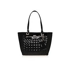 Nine West - Blk/white 'Ava' tote handbag