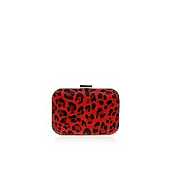 Carvela - Red Ghost clutch bag