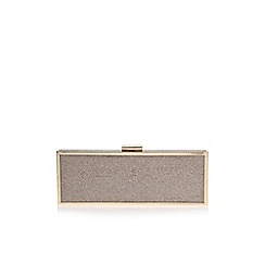 Carvela - Gold 'Gosh clutch'  handbag
