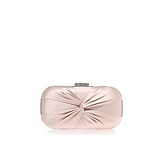 Carvela - Nude 'Guest' clutch bag
