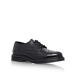 KG Kurt Geiger - Black 'Laurie' Flat Lace Up Shoe