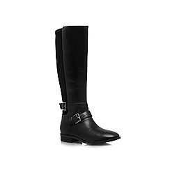 Nine West - Black 'Bridge' flat boots