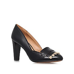 Nine West - Black 'Captiva' High heeled courts